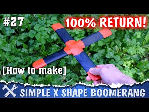 DIY boomerang - how to make it