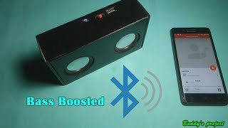 Homemade powerful Bluetooth speaker (PAM8403 5v amp inside