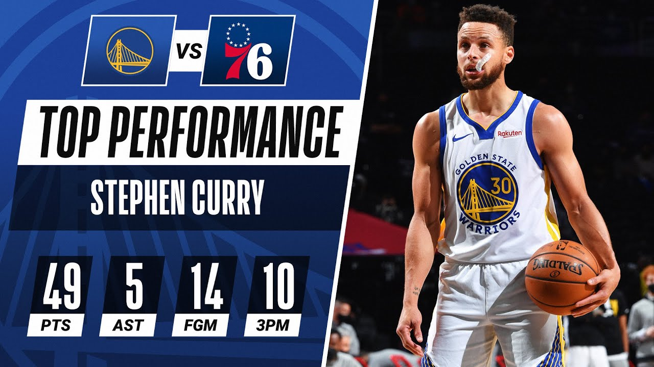 Stephen Curry Goes OFF for 49 PTS! 👨🍳
