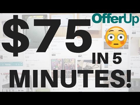 Made $75 Profit In 5 Minutes 😳😳😳 BUYING Items on OfferUp to Resell on Amazon! | RALLI ROOTS 2.1