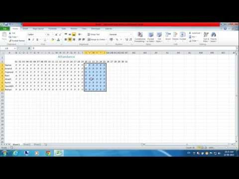 Keyboard Shortcut to Fill Right and Fill Down in Excel