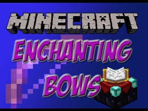Bow Enchanting! Flame I, Power V, and Punch II