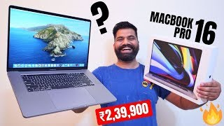 """MacBook Pro 16"""" Unboxing & First Look - Intel Core i9 - My New PRO Machine🔥🔥🔥"""
