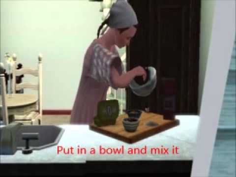 The Sims 3: How to make waffles