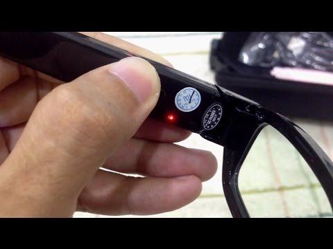 Spy Glasses Video Recorder