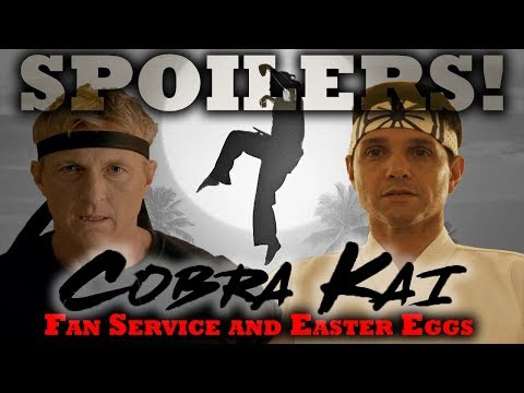 Cobra Kai - Season 1 Easter Eggs & Fan Service Review [SPOILERS!] Karate Kid sequel series