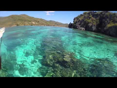 Kitesurfing eco resort around Linapacan, Palawan, Philippines