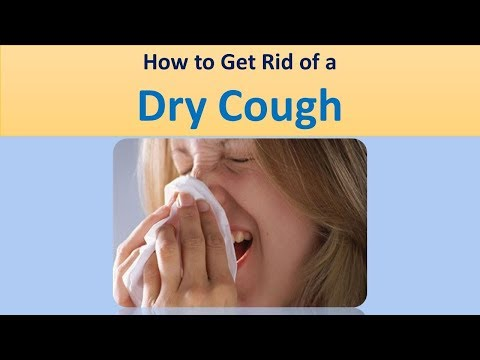 How to Get Rid of a Dry Cough Remaining Hydrated., Consuming Soothing Food.