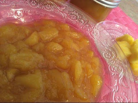 Newfoundland Pineapple Mango Jam (No Pectin)  - Rise Wine & Dine - Episode 32