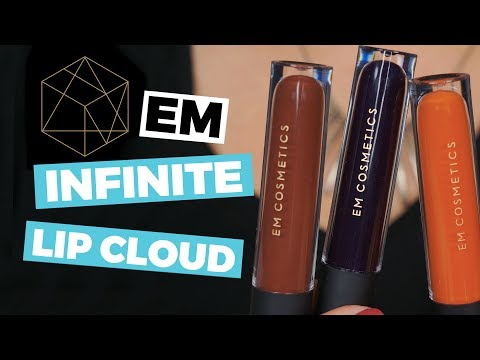 EM Cosmetics Infinite Lip Cloud Swatches and Review