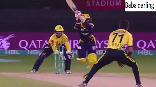 Peshawar Zalmi vs Quetta Gladiators 7th psl match highlights full match highlights