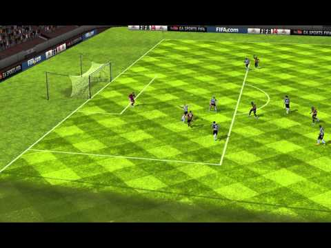 FIFA 14 Android best goal , flying kick , almost impossible to do it again