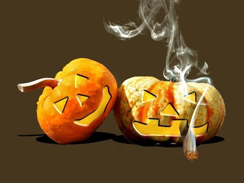 Photoshop CC beginner tutorial   making a smoking halloween pumpkin