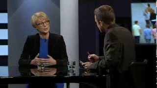 Elisabeth Svantesson (M) frågas ut i agenda i november 2013