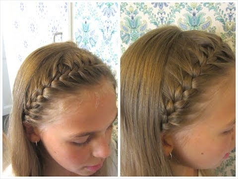DIY French braided headband - HairAndNailsInspiration