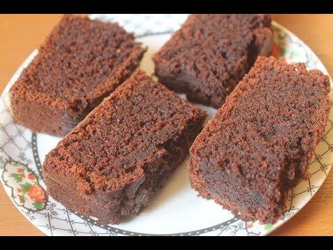 Eggless Moist Chocolate Cake Recipe