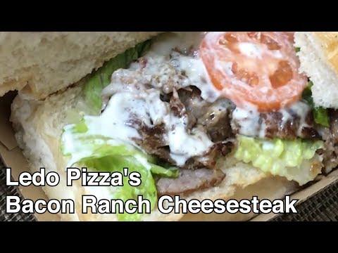 REVIEW: Ledo Pizza's Bacon Ranch Cheesesteak