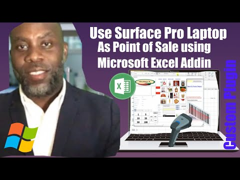 Excel/Surface POS: Turn your Laptop/Surface Pro into a cash register / POS system.