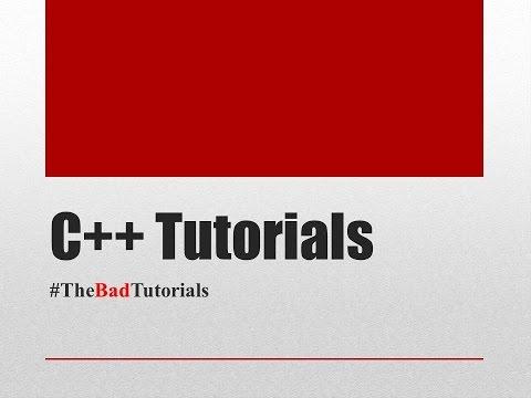 C++ Tutorial - 1: Introduction