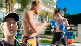 They Boxed for Logan Paul's $90,000 Couches... (THINGS GOT HEATED)