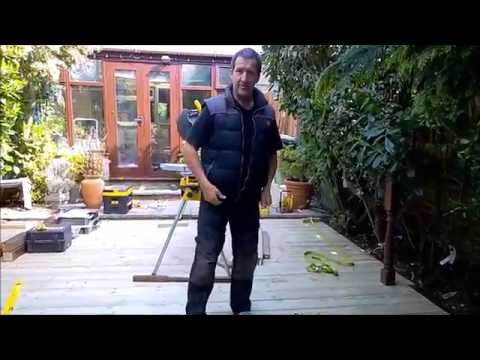 HOW TO TIPS ON DECKING