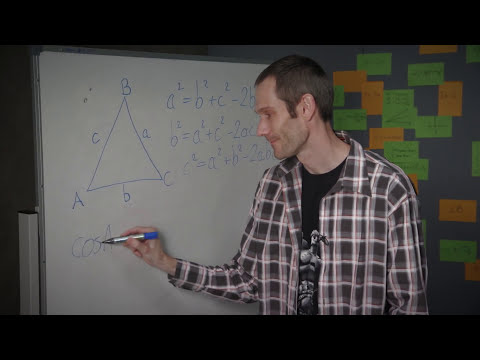 How to solve a Non-Right Angled Triangle using Cosine