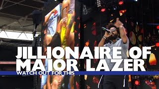 Jillionaire of Major Lazer - 'Watch Out For This' (Live At The Summertime Ball 2016)