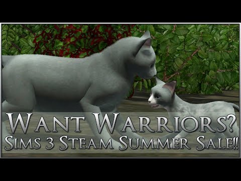 Want Your Own Warrior Cats? Sims 3 + Pets is On Sale - Again!!