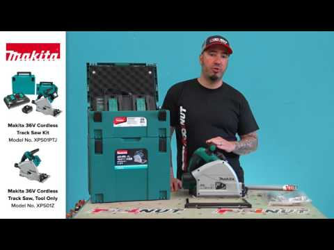 Makita XPS01 36V Cordless Brushless Plunge Track Saw