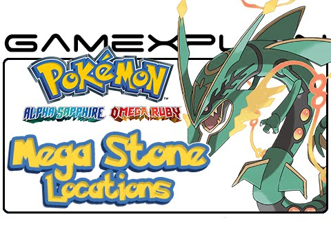 All Mega Stone Locations in Pokémon Omega Ruby & Alpha Sapphire - Guide & Walkthrough
