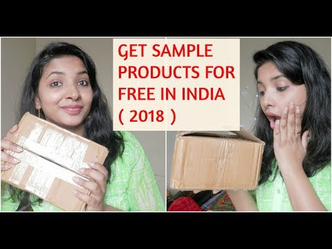 GET FREE SAMPLE PRODUCTS IN INDIA ( 2018 )    HOW TO    TRICKS IN HINDI