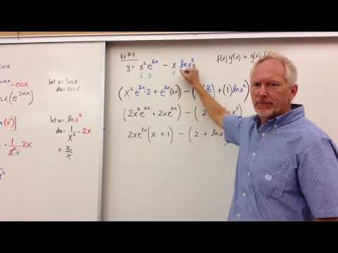 Derivatives of e^x and ln(x)