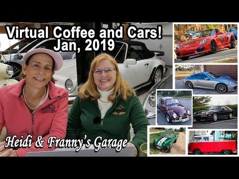 Virtual Coffee and Cars - January 2019