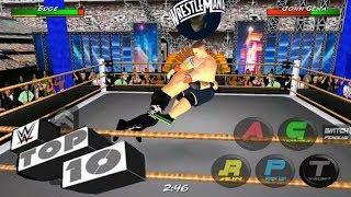 John Cena Top 10 Kicksout - WRESTLING REVOLUTION 3D
