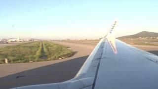 WOW | SCARY RYANAIR 737 HARD LANDING AT IBIZA!!