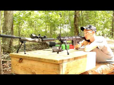 Ruger SR762 rifle review AAC 762-SDN-6 silencer suppressor sdn-6 sr-762