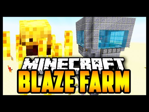 EASY Blaze XP/Blaze Rod Farm Minecraft 1.9 Tutorial. (1.9, 1.8, 1.7, 1.6)