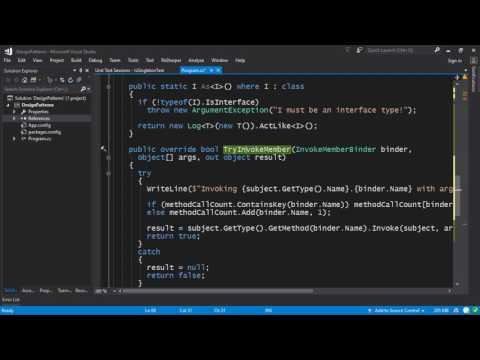 Making a Dynamic Proxy in C# with ImpromptuInterface