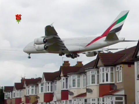 Plane Spotting **Myrtle Avenue1 ** Landing at London Heathrow Airport ✈️