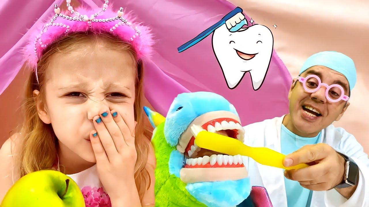 Nastya a perdu une dent et a reçu des cadeaux de la fée des dents