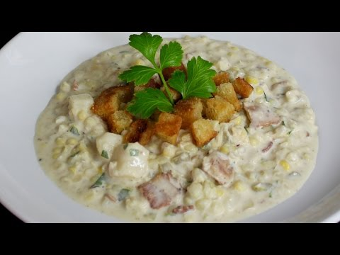 Corn Chowder Recipe with Michael's Home Cooking