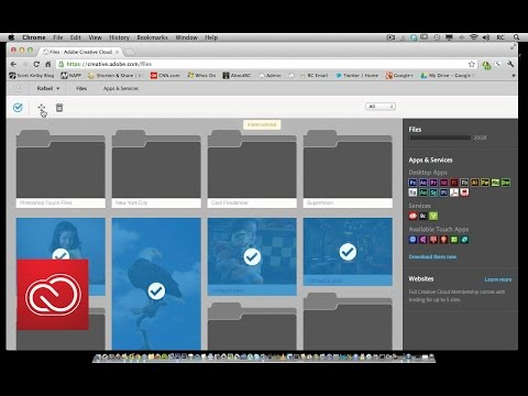 Selecting, moving, and deleting files in Creative Cloud | Adobe Creative Cloud