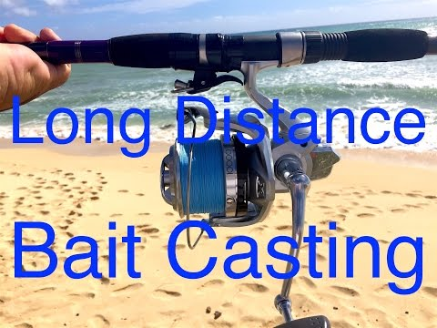 Long Distance Breakaway Cannon Shrimp Casting Info!