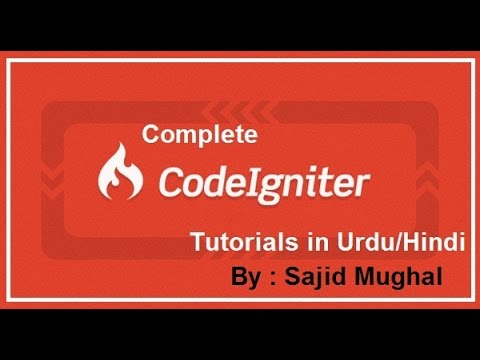 12 Where clause and URL data passing in Codeigniter (Urdu/Hindi)