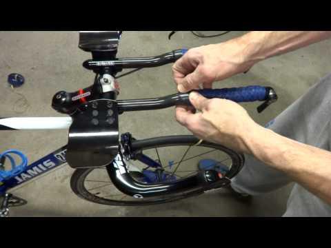 How To Wrap Triathlon Bike Aerobars & Basebar Handles