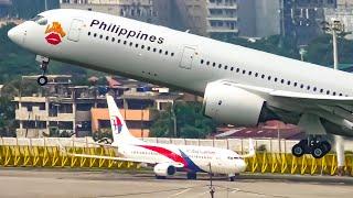 13 ROARING Takeoffs at MNL | Manila Airport Plane Spotting