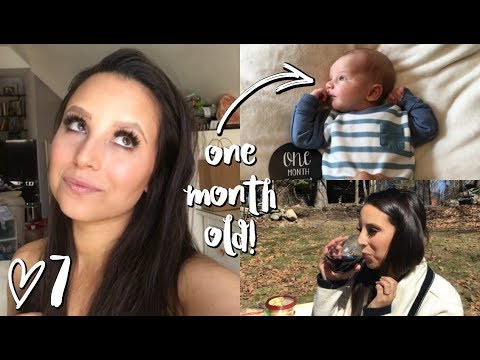 BABY'S FIRST MONTH + MAMA'S FIRST SIP OF WINE! // WEEKLY 7