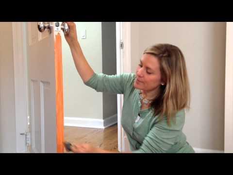 Lazy DIY: Perking Up a Door