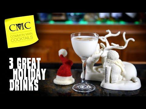 3 Holiday Drinks For December ⛄ Christmas, Hanukkah, Kwanzaa & More