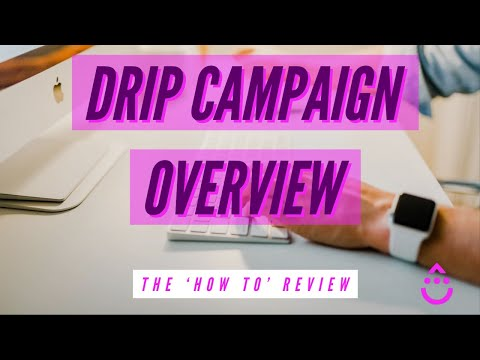Drip Email Marketing - How To Setup a Drip Campaign